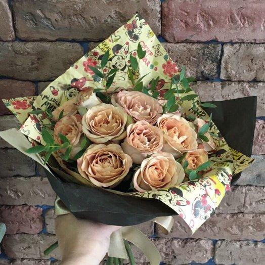 Капуччино: букеты цветов на заказ Flowwow