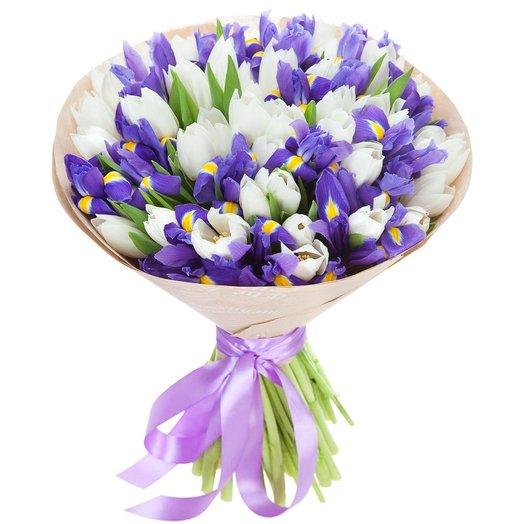 Букет Морской прибой: букеты цветов на заказ Flowwow