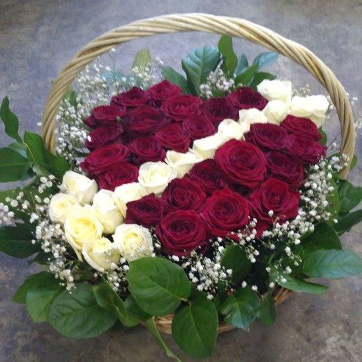Разбитые сердца: букеты цветов на заказ Flowwow