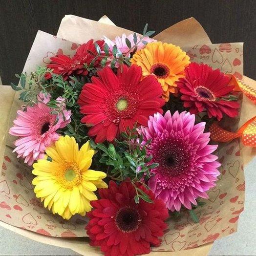 Букет с геберами: букеты цветов на заказ Flowwow