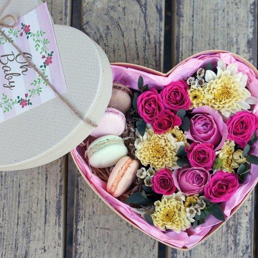 Vanilla heart_2: букеты цветов на заказ Flowwow