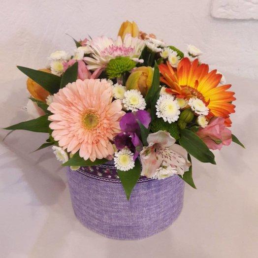 Коробочка из лета: букеты цветов на заказ Flowwow