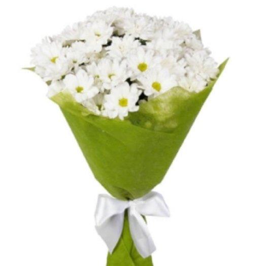 Кустовые хризантемы в фетре для тебя: букеты цветов на заказ Flowwow