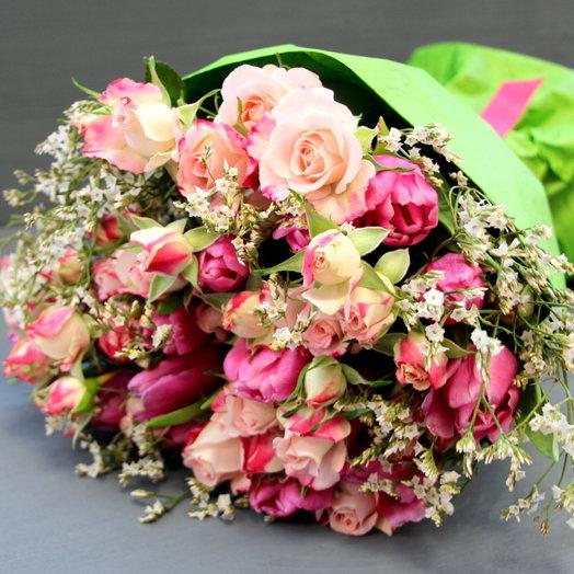 "Букет ""Ромео"": букеты цветов на заказ Flowwow"