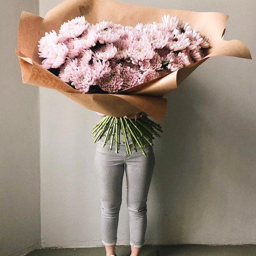 Хризантема одноголовая: букеты цветов на заказ Flowwow