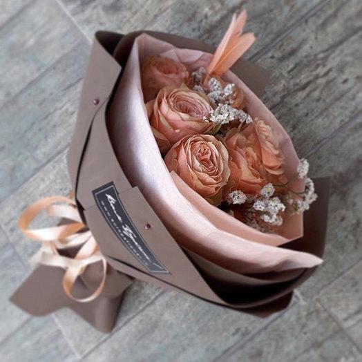 Элегантный букет «Истинная леди»: букеты цветов на заказ Flowwow