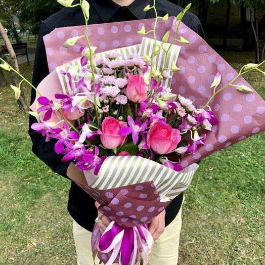 Стильный школьный 1: букеты цветов на заказ Flowwow