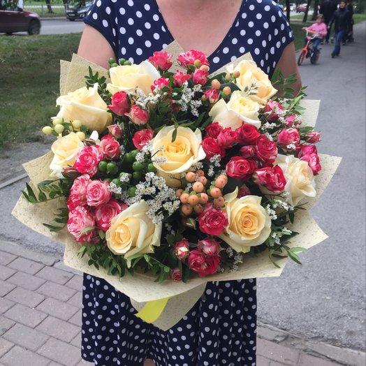 Нежность в словах: букеты цветов на заказ Flowwow