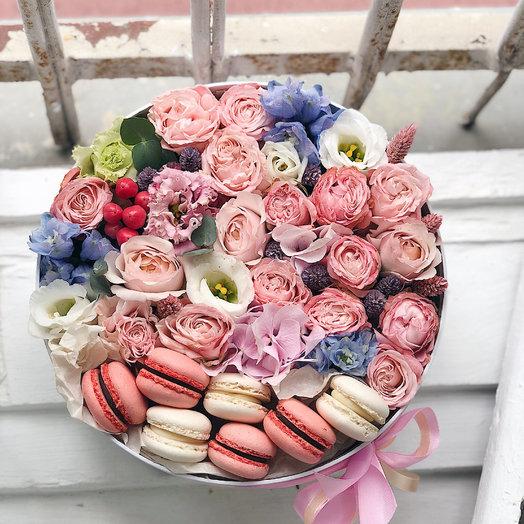 Цветочный BOX: букеты цветов на заказ Flowwow