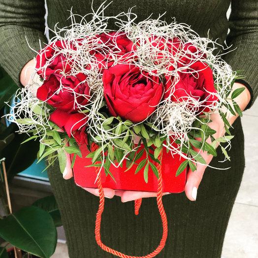 Символ любви: букеты цветов на заказ Flowwow