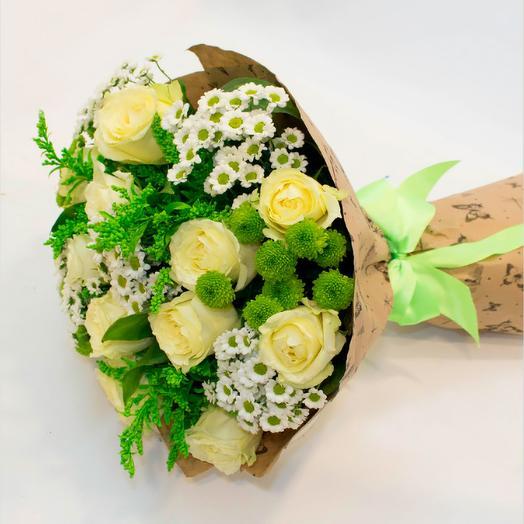 Летняя поляна: букеты цветов на заказ Flowwow