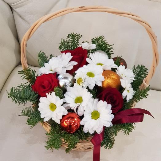 Зимний цветок: букеты цветов на заказ Flowwow