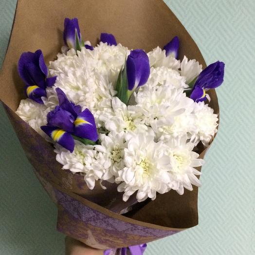 Chrysanthemums iris