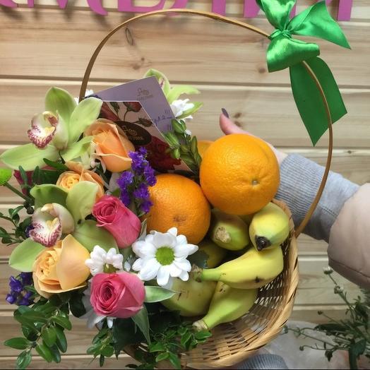 Теплый микс🌺🍏: букеты цветов на заказ Flowwow