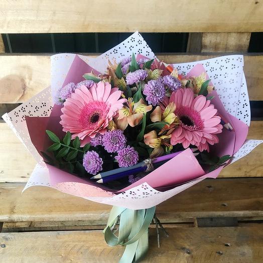 Последний звонок: букеты цветов на заказ Flowwow