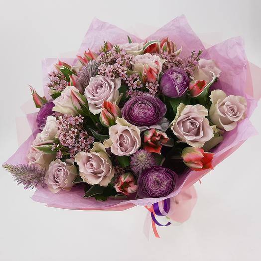 Французская поэзия: букеты цветов на заказ Flowwow
