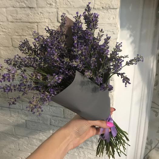 Свежая ароматная лаванда по супер цене: букеты цветов на заказ Flowwow