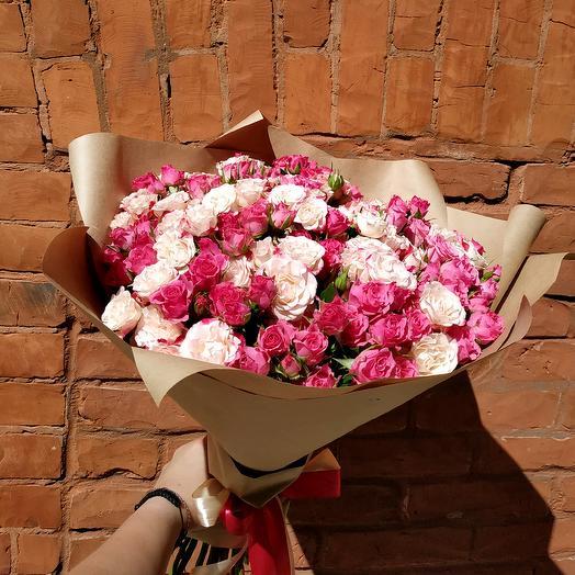 Вспышка: букеты цветов на заказ Flowwow