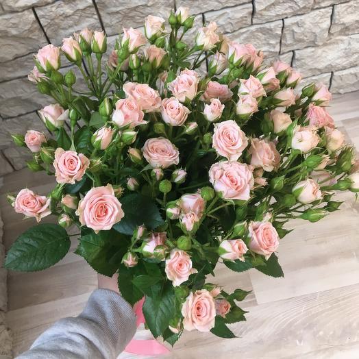 Букет из 10 кустовых роз: букеты цветов на заказ Flowwow