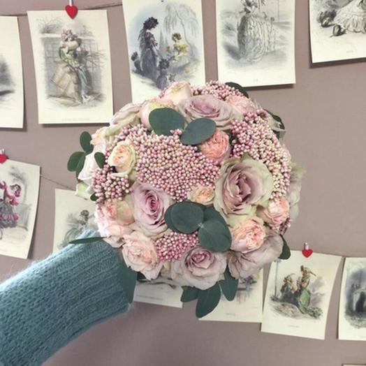 """Свадебный букет """"Пылкая любовь"""": букеты цветов на заказ Flowwow"""