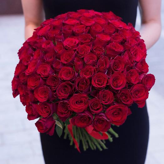 Шелковая страсть: букеты цветов на заказ Flowwow
