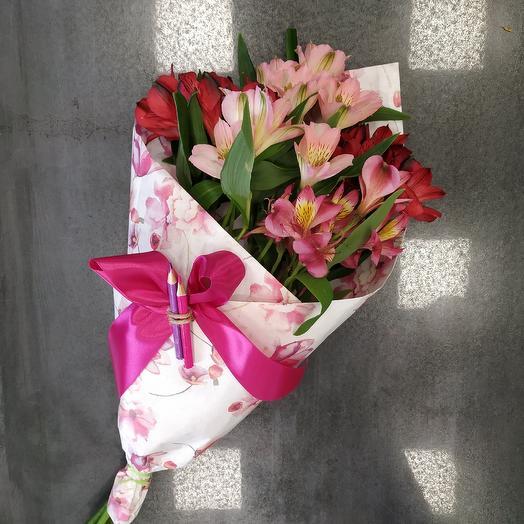 Букет школьника на 1 сентября (10): букеты цветов на заказ Flowwow