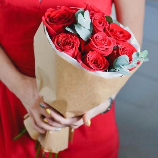Букет «Рубин»: букеты цветов на заказ Flowwow