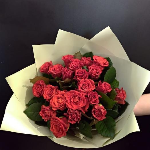 Букет из роз Эль Торо: букеты цветов на заказ Flowwow