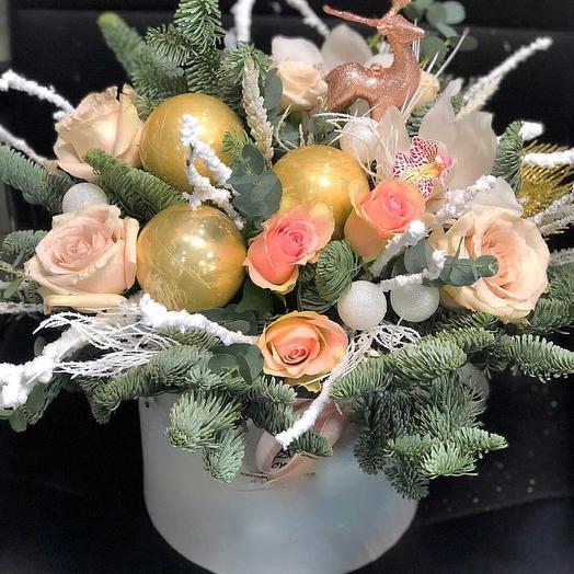 Зимушка- зима: букеты цветов на заказ Flowwow