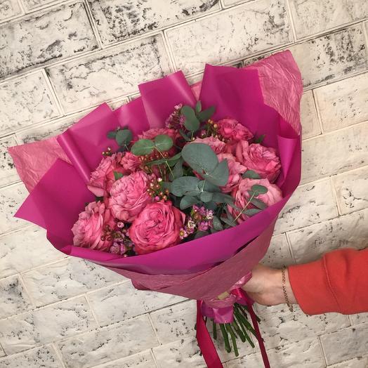Букет Малина: букеты цветов на заказ Flowwow