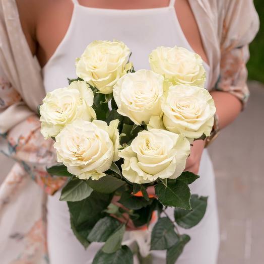"""Воздушный поцелуй"": букеты цветов на заказ Flowwow"