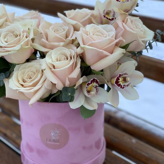 Сахара Пинк: букеты цветов на заказ Flowwow