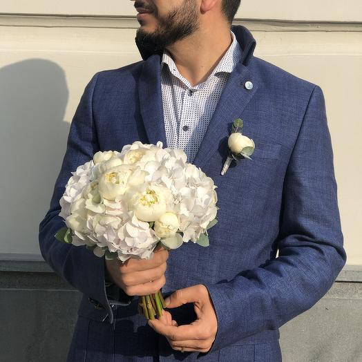 Свадебный букет 4: букеты цветов на заказ Flowwow