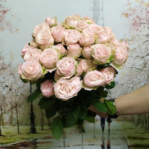 Роза бомбастик 9: букеты цветов на заказ Flowwow