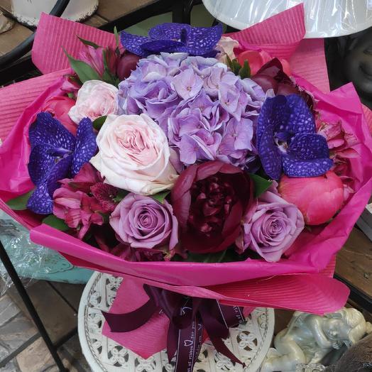 Букет Восточный Мотив: букеты цветов на заказ Flowwow
