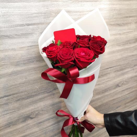 ✅ Букет красных роз Хит 💐