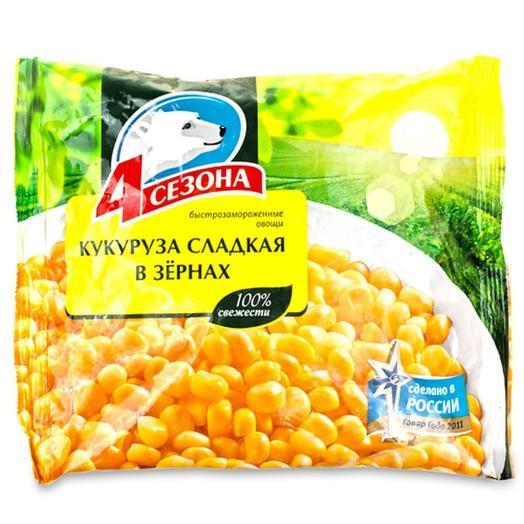Сладкая кукуруза в зернах 400 гр