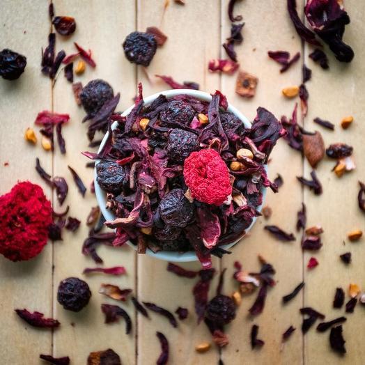 Гранатовый чай - Сочный гранат