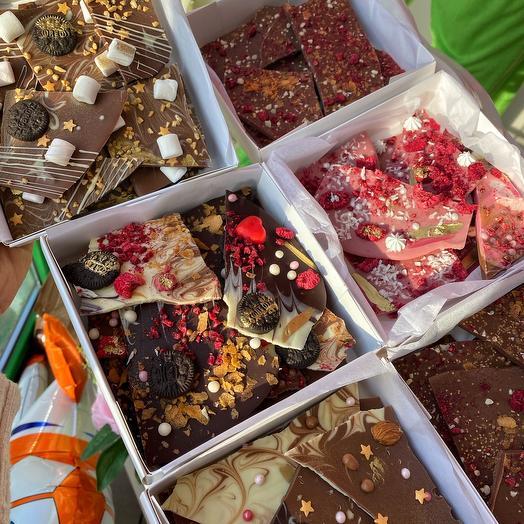 Шоколадные осколки