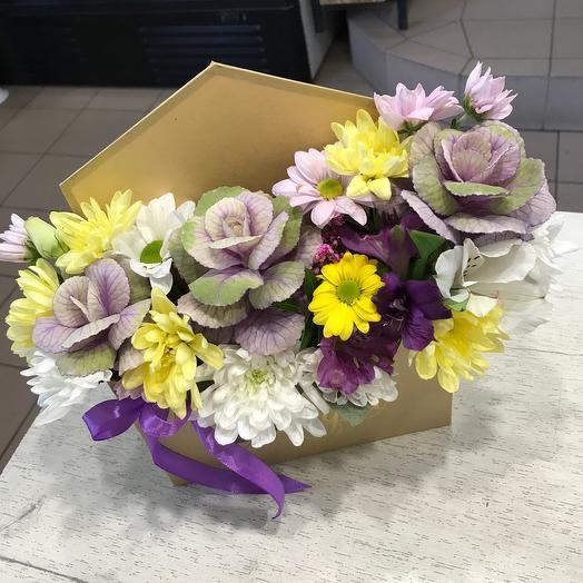 Цветы в конвернте