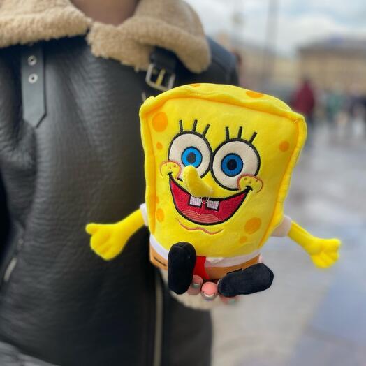 Мягкая игрушка «Спанч Боб»