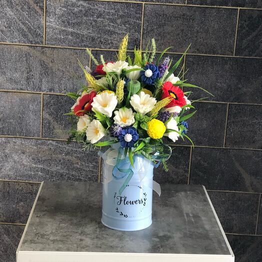 Ароматизированный букет Полевые цветы