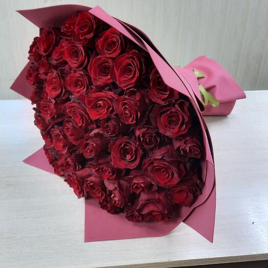 Шикарные премиум розы 51шт