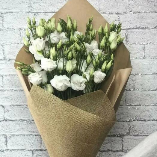 Лизиантус Ирландская роза