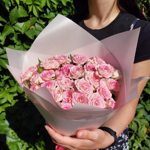 """Букет """"Розовое счастье"""""""