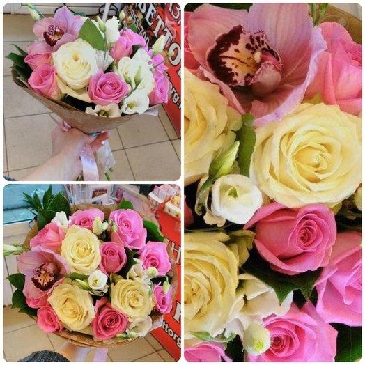 Очарованный тобой: букеты цветов на заказ Flowwow