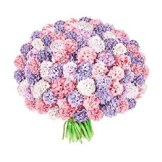 Букет из 81 гиацинта: букеты цветов на заказ Flowwow
