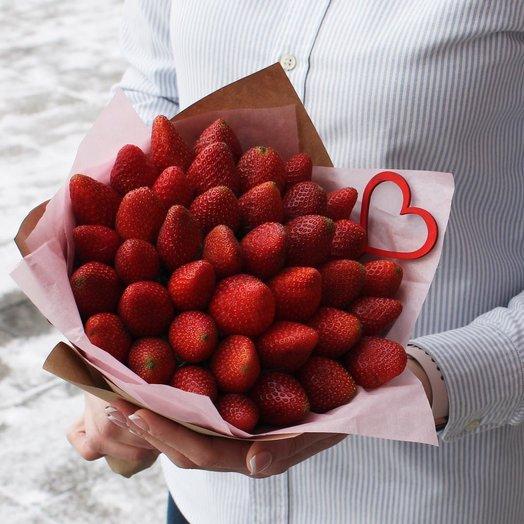 Клубника для любимых.: букеты цветов на заказ Flowwow