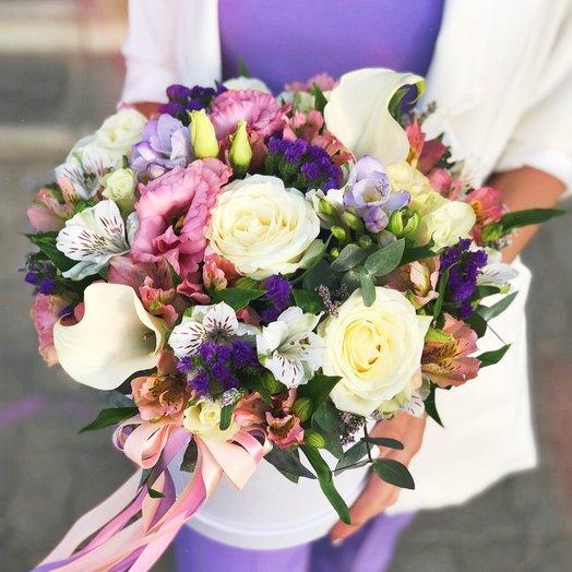 """""""Мерси"""": букеты цветов на заказ Flowwow"""