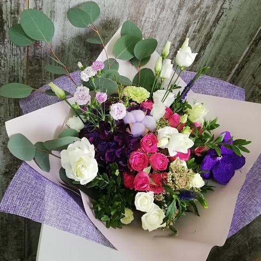 Небо Амстердама: букеты цветов на заказ Flowwow